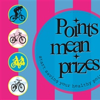 Points mean Prizes