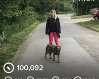 100,000 step challenge against domestic violence